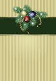 Decorações do Natal ilustração royalty free