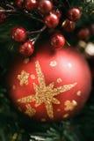 Decorações do Natal. imagens de stock royalty free