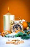 Decorações do Natal Foto de Stock