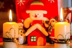 Decorações do Natal Foto de Stock Royalty Free