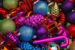 Decorações 20 do Natal Foto de Stock