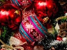 Decorações a do Natal Foto de Stock