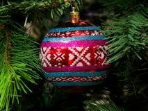 Decorações a do Natal Fotografia de Stock Royalty Free