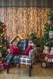 Decorações do Natal imagens de stock