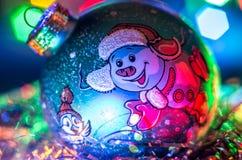 Decorações do Natal, bola Fotos de Stock Royalty Free