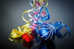 Decorações do Natal coloridas Imagem de Stock Royalty Free