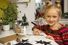 Decorações do Natal da criação Fotos de Stock