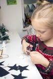 Decorações do Natal da criação Fotografia de Stock Royalty Free