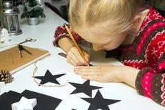 Decorações do Natal da criação Imagem de Stock Royalty Free