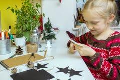 Decorações do Natal da criação Foto de Stock Royalty Free