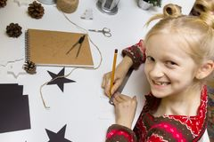 Decorações do Natal da criação Imagens de Stock