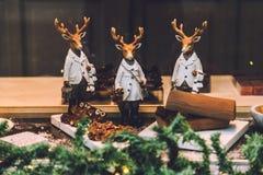 Decorações do Natal de Ghent Foto de Stock