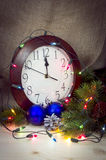Decorações do Natal e do ano novo Fotografia de Stock Royalty Free