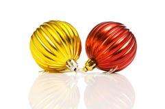 Decorações do Natal em festivo Imagem de Stock Royalty Free