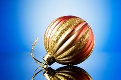 Decorações do Natal em festivo Foto de Stock Royalty Free