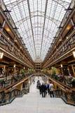 Decorações do Natal & do feriado - arcada histórica de Euclid - Cleveland, Ohio fotografia de stock royalty free