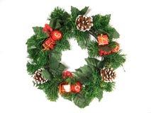 Decorações do Natal - festão Fotos de Stock Royalty Free