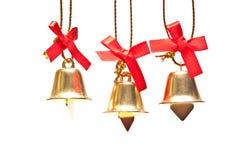 Decorações do Natal no fundo branco Imagem de Stock