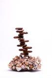 Decorações do Seashell Imagem de Stock
