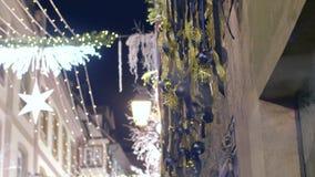 Decorações dos feriados de inverno vídeos de arquivo