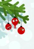 Decorações engraçadas ilustração royalty free