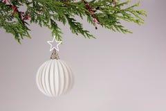 Decorações festivas da estação do Natal fotos de stock royalty free