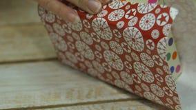 Decorações festivas O trabalho de um desenhista-decorador Na véspera do Natal filme