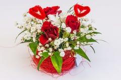 Decorações florais bonitas Imagem de Stock