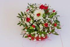 Decorações florais bonitas Foto de Stock Royalty Free