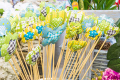 Decorações florais bonitas Fotos de Stock Royalty Free