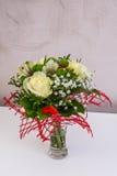 Decorações florais bonitas Foto de Stock