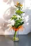 Decorações florais bonitas Imagens de Stock