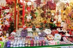 Decorações florais e presentes tradicionais Fotografia de Stock