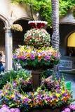 Decorações florais para o festival do Corpus Christi Fotografia de Stock