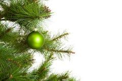 Decorações isoladas da Natal-árvore 2016 anos novos felizes Foto de Stock