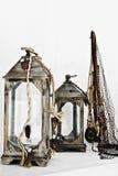 Decorações náuticas Fotografia de Stock