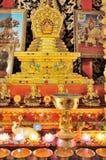 Decorações no templo Fotos de Stock Royalty Free