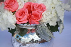 Decorações nupciais do casamento Imagem de Stock