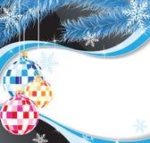 Decorações originais do Natal Foto de Stock Royalty Free