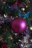 Decorações para árvores de Natal Foto de Stock