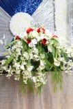 Decorações para celebrações de 25 anos Imagem de Stock Royalty Free
