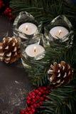 Decorações para o Natal Fotos de Stock
