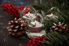 Decorações para o Natal Foto de Stock