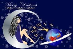 Decorações pelo Natal e o ano novo Fotos de Stock Royalty Free