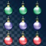 Decorações pelo Natal e o ano novo Foto de Stock Royalty Free