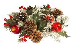 Decorações por feriados do Natal e do ano novo Imagem de Stock