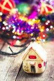 Decorações tradicionais do Natal Fotografia de Stock
