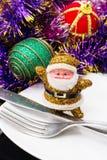 Decorações tradicionais do Natal Fotos de Stock Royalty Free