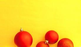 Decoracation de la bola de la Navidad fotografía de archivo libre de regalías