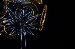 Decoración única de Navidad del od del diseño de un árbol Fotos de archivo